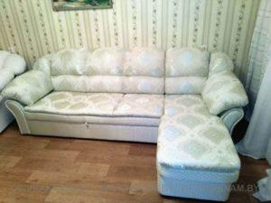 ремонт и перетяжка углового дивана